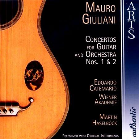 마우로 쥴리아니/기타 협주곡 A단조 Op.30/지그프리트 베렌트, 기타