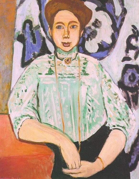 앙리 마티스-그레타 몰의 초상화