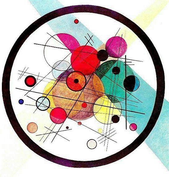 칸딘스키-원(圓)을 주제로 한 작품